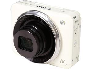 Canon PowerShot N2 White 16.1 MP 8X Optical Zoom 28mm Wide Angle Digital Camera