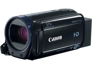 "Canon VIXIA HF R62 0278C004 Black 1/4.85"" CMOS 3.0"" 230K Touch LCD 32X Optical Zoom Full HD HDD/Flash Memory Camcorder"
