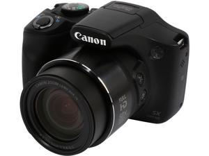 Canon PowerShot SX530 HS Black 16 MP 50X Optical Zoom 24mm Wide Angle High-End, Advanced Digital Camera HDTV Output