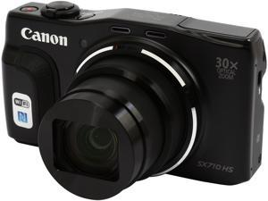 Canon PowerShot SX710 HS Black 20.3 MP 30X Optical Zoom 25mm Wide Angle High-End, Advanced Digital Camera HDTV Output