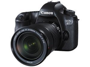 Canon EOS 6D 8035B106 Black Digital SLR Camera with EF 24-105mm f/3.5-5.6 IS STM Lens