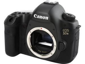 Canon EOS 5DS 0581C002 Black 50.60 MP Digital SLR Camera Body