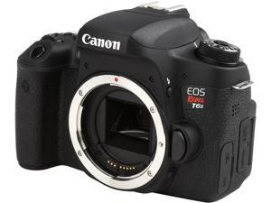 Canon EOS Rebel T6s 0020C001 Black 24.20 MP Digital SLR Camera Body