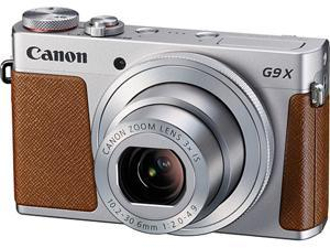 Canon G9 X Silver 20.2 MP 3X Optical Zoom 25mm Wide Angle Digital Camera