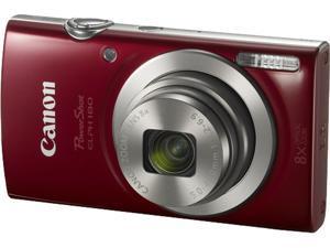 Canon PowerShot ELPH 180 Digital Camera - Red