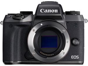 "Canon EOS M5 1279C001AA Black 24.2 MP 3.2"" LCD Compact Mirrorless System Camera"