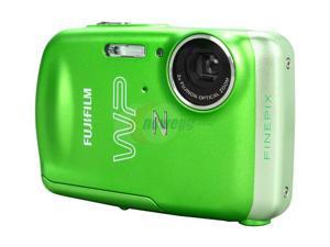 FUJIFILM FinePix Z33WP Green 10.0 MP 3X Optical Zoom Waterproof Digital Camera