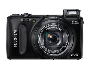 FUJIFILM F660EXR 16227480 Black 16.0 MP Wide Angle Digital Camera