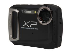 FUJIFILM XP100 Black 14.4 MP Waterproof Shockproof Wide Angle Digital Camera
