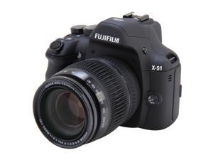 FUJIFILM X-S1 Black 12.0 MP Wide Angle Digital Camera HDTV Output