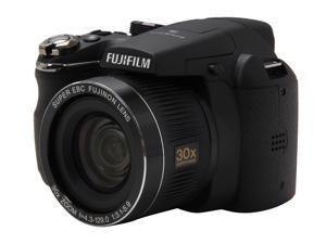 FUJIFILM FinePix S4000 Black 14 MP 24mm Wide Angle Digital Camera HDTV Output