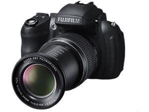 FUJIFILM HS30EXR Black 16.0 MP 24mm Wide Angle Digital Camera