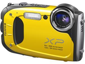 "FUJIFILM FinePix XP60 16318875 Yellow 16.4 MP 2.7"" 230K Digital Camera"