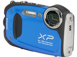 Fuji FinePix XP60 Blue 16.4MP Crushproof Waterproof Shockproof Freezeproof Digital Camera
