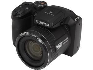 FUJIFILM FinePix S4800 Black 16 MP 24mm Wide Angle Digital Camera HDTV Output