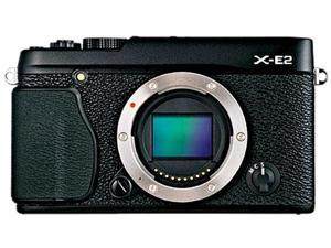 FUJIFILM X-E2 16404870 Black Compact Mirrorless System Camera - Body
