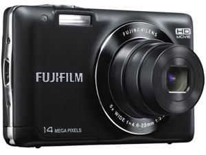 FUJIFILM FinePix JX520 Black 14 MP 26mm Wide Angle Digital Camera