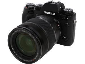 """FUJIFILM X-T1 16432786 Black 16.3 MP 3.0"""" 1040K LCD Digital Camera w/XF18-135mm Lens"""