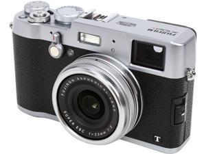 FUJIFILM X100T Silver 16.3 MP Digital Camera HDTV Output