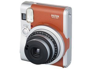Instax Mini 90 NEO CLASSIC Instant Camera with 10 Exposure Film - Brown