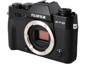 "FUJIFILM X-T10 16470245 Black 16.3 MP 3.0"" 920K LCD Mirrorless Interchangeable Lens Camera - Body"