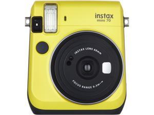 FUJIFILM Mini 70 16496122 Film Camera - Canary Yellow