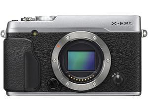 FUJIFILM X-E2S 16499174 Silver 16.3 MP Aspect ratio 3:2, approx. 1,040K-dot, color LCD monitor LCD Digital Camera - Body Only