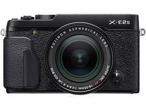 FUJIFILM X-E2S 16499239 Black 16.3 MP Aspect ratio 3:2, approx. 1,040K-dot, color LCD monitor LCD Digital Camera - Body with XF18-55mm F2.8-4 R Lens Kit
