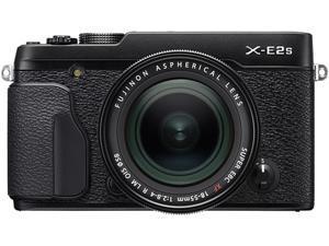 FUJIFILM X-E2S 16499239 Black 16.3 MP Aspect ratio 3:2, approx. 1,040K-dot, color LCD monitor LCD Digital Camera - Body with XF18-55mm F2.8-4 R Lens Kit