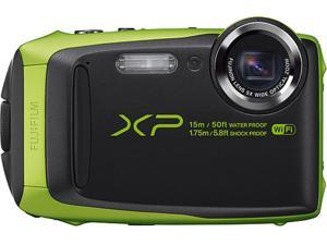 "FUJIFILM XP90 Lime 16.4 MP 3.0"", approx. 920K-dot, TFT color LCD monitor Digital Camera - Lime"