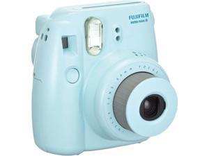 FUJIFILM Instax Mini 8 16273439 BNDL Blue Film Camera Plus TWIN PK