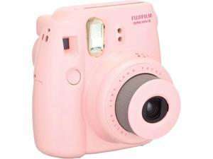 FUJIFILM Instax Mini 8 16273415 BNDL Pink Film Camera Plus TWIN PK
