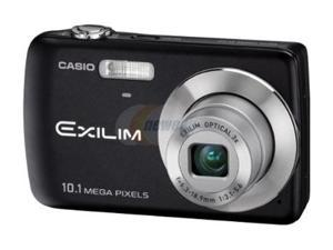CASIO EXILIM EX-Z33 Black 10.1 MP 3X Optical Zoom Digital Camera