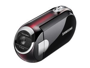 SAMSUNG SMX-C10 Black-Red Compact SD Camcorder