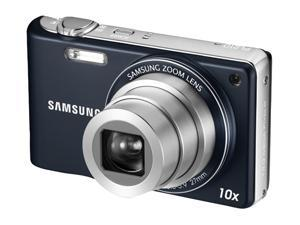 SAMSUNG PL 210 Blue 14.2 MP 27mm Wide Angle Digital Camera