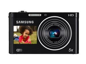 SAMSUNG DV300F Black 16.1 MP 25mm Wide Angle Wireless-enabled Digital Camera