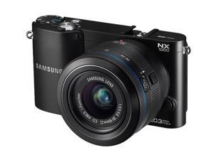 SAMSUNG NX1000 EV-NX1000BABUS Black SMART Camera with 20-50mm Lens