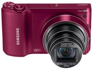 SAMSUNG WB800F Red Digital SLR Camera