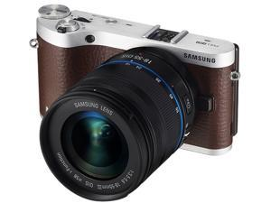 Samsung NX300 20.3 Megapixel Mirrorless Camera (Body with Lens Kit) - 18 mm - 55 mm - Brown
