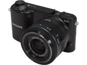 SAMSUNG EV-NX2000BABUS Black Mirrorless Digital Camera with 20-50mm f/3.5-5.6 Lens