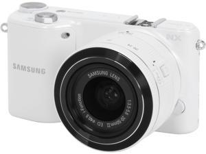 SAMSUNG EV-NX2000BFWUS White Mirrorless Digital Camera with 20-50mm f/3.5-5.6 Lens