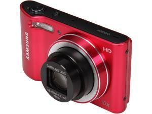 SAMSUNG EC-WB30FZBPRUS Red 16.2 MP 10X Optical Zoom Wide Angle Digital Camera