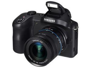 SAMSUNG Galaxy NX GN120 EK-GN120ZKAXAR Black Mirrorless Digital Camera with 18-55mm Lens