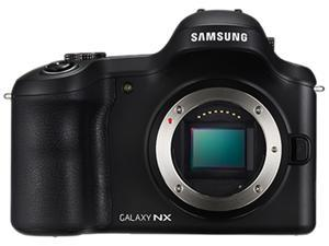 SAMSUNG Galaxy NX GN120 EK-GN120ZKZXAR Black Mirrorless Digital Camera - Body