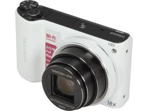 Samsung 14.2MP Digital Camera With Wi-Fi, EC-WB200F (White)