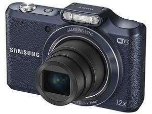 SAMSUNG WB50F Black 16.2 Megapixel 12X Optical Zoom Smart Digital Camera
