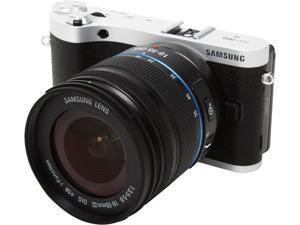 SAMSUNG NX300m EV-NX300MBSTUS Black Smart Camera with 18-55mm Lens