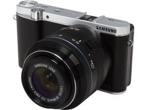 "SAMSUNG NX3000 EV-NX3000BEIUS Black 20.3MP 3.0"" 460.8K LCD Mirrorless Digital Camera with 20-50mm Lens"