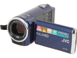 JVC GZ-E10 Blue Full HD HDD/Flash Memory Camcorder