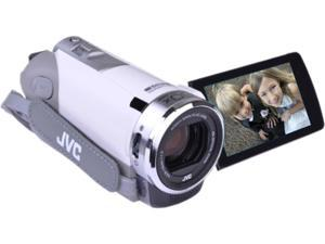 "JVC  GZ-E300WUS-FB-R  White  CMOS  3.0""  LCD 40x Optical Zoom
